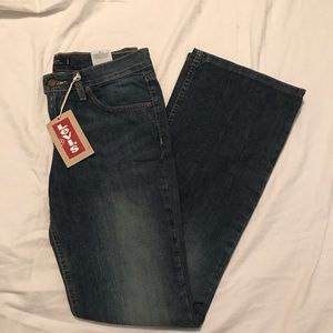 "Levi's superlow 518 Bootcut Jeans 32"" Inseam"